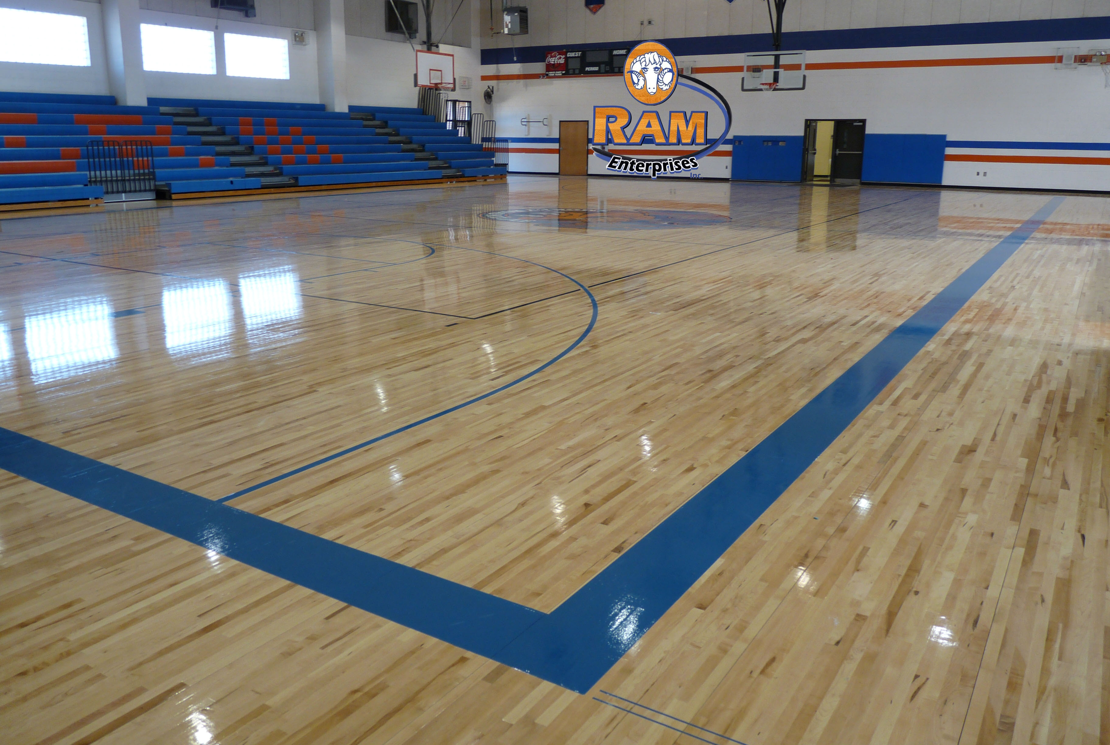 Athletic flooring home design ideas and pictures for Sports flooring